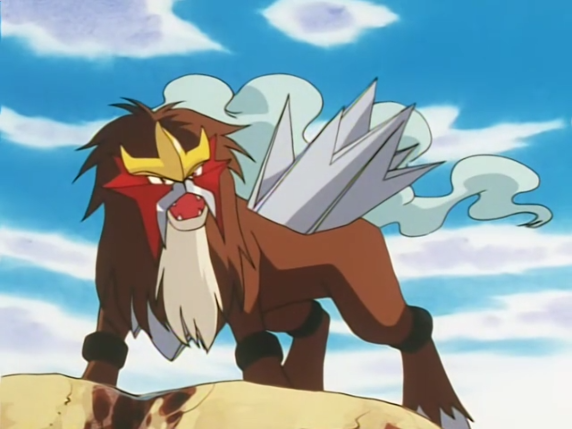 Entei Anime Pok 233 Mon Wiki Fandom Powered By Wikia