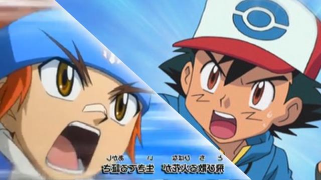 File:Ash Ketchum vs Gingka Hagane (Pokemon x Beyblade Crossover).png