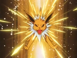 Sparky Jolteon Pin Missile