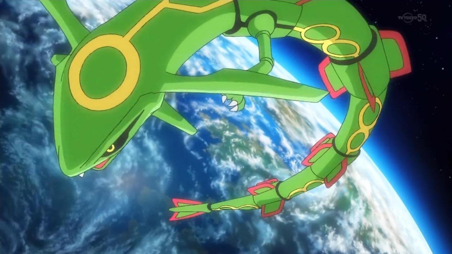 Rayquaza Mega Evolution Special