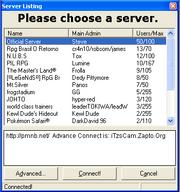 Serverlisting