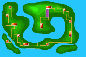 Map Route 7X