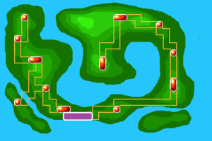 Map Route 3X