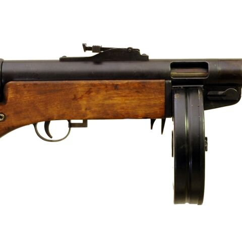 Finland's favorite gun from the winter war (the Suomi KP/-31