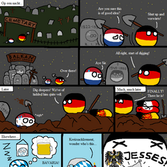 Germany and The Netherlands go out marauding (<a href=