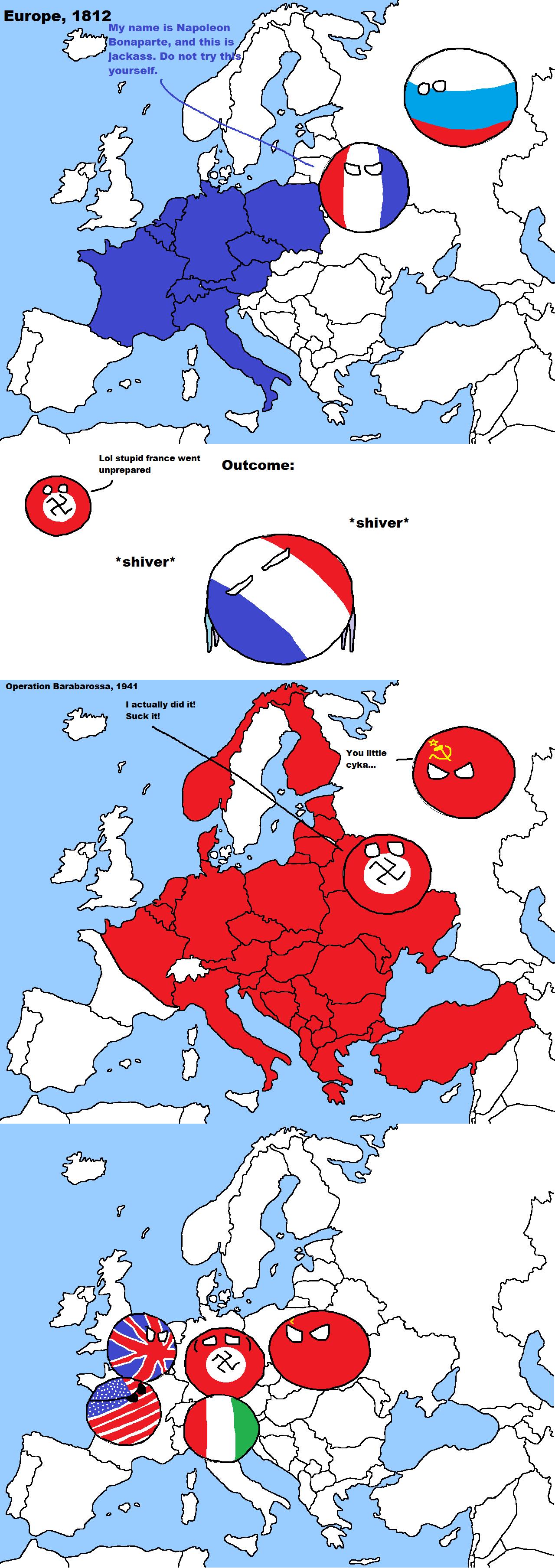 Image - Invading russia.png | Polandball Wiki | FANDOM ...