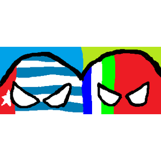 West Papuaball (left) with <a href=