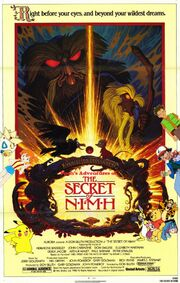 Pooh's Adventures of The Secret of NIMH Poster
