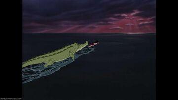 Captain Hook's defeat