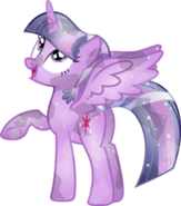 Crystal Alicorn Twilight Sparkle
