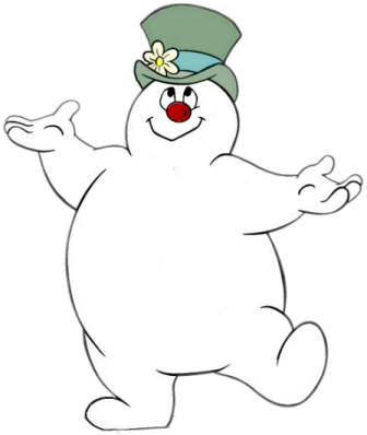 cartoon characters christmas coloring pages - photo#15