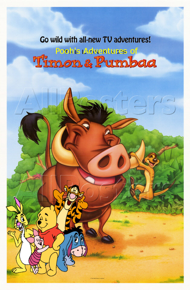 Приключения тимона и пумбы — timon and pumbaa (1995-1998) 1,2,3,4.