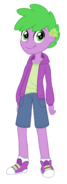 Equestria Girls Human Spike