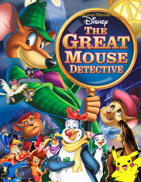 The Great Mouse Detective - Fidget traps Olivia HD - YouTube