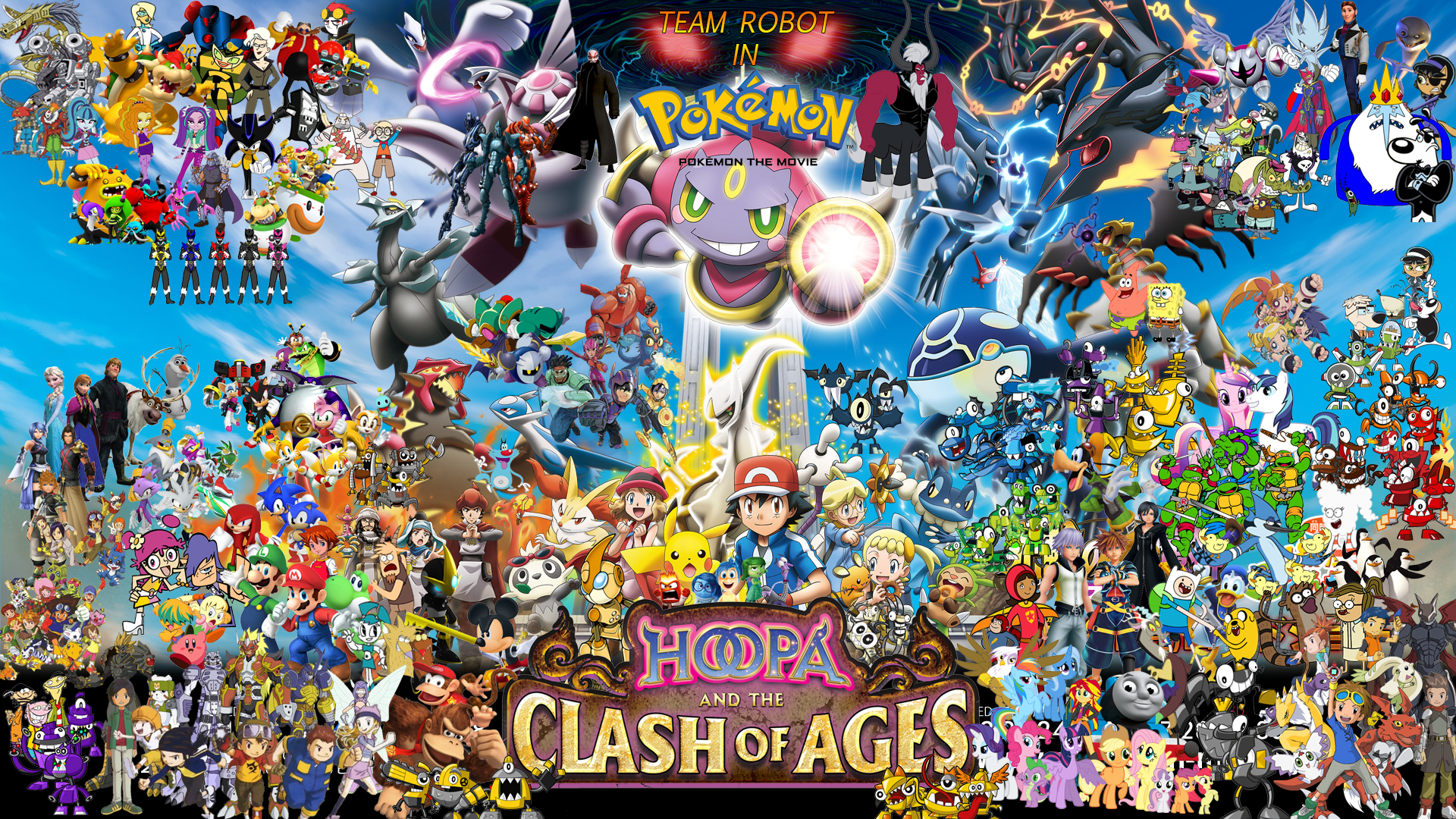 team robot in pokémon the movie hoopa and the clash of ages
