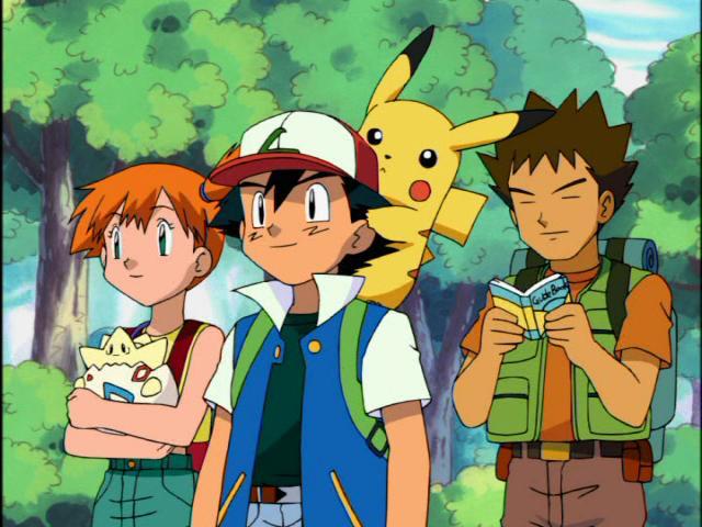 Pokemon Card - Ash, Misty, Brock, Pikachu y Togepi by adfpF1 on ...