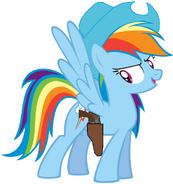 Rainbow cowgirl