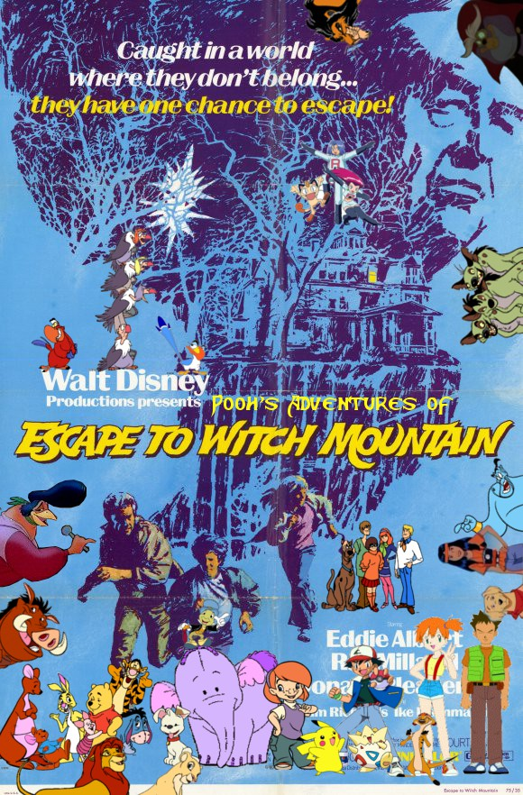 Pooh S Adventures Of Escape To Witch Mountain Pooh S