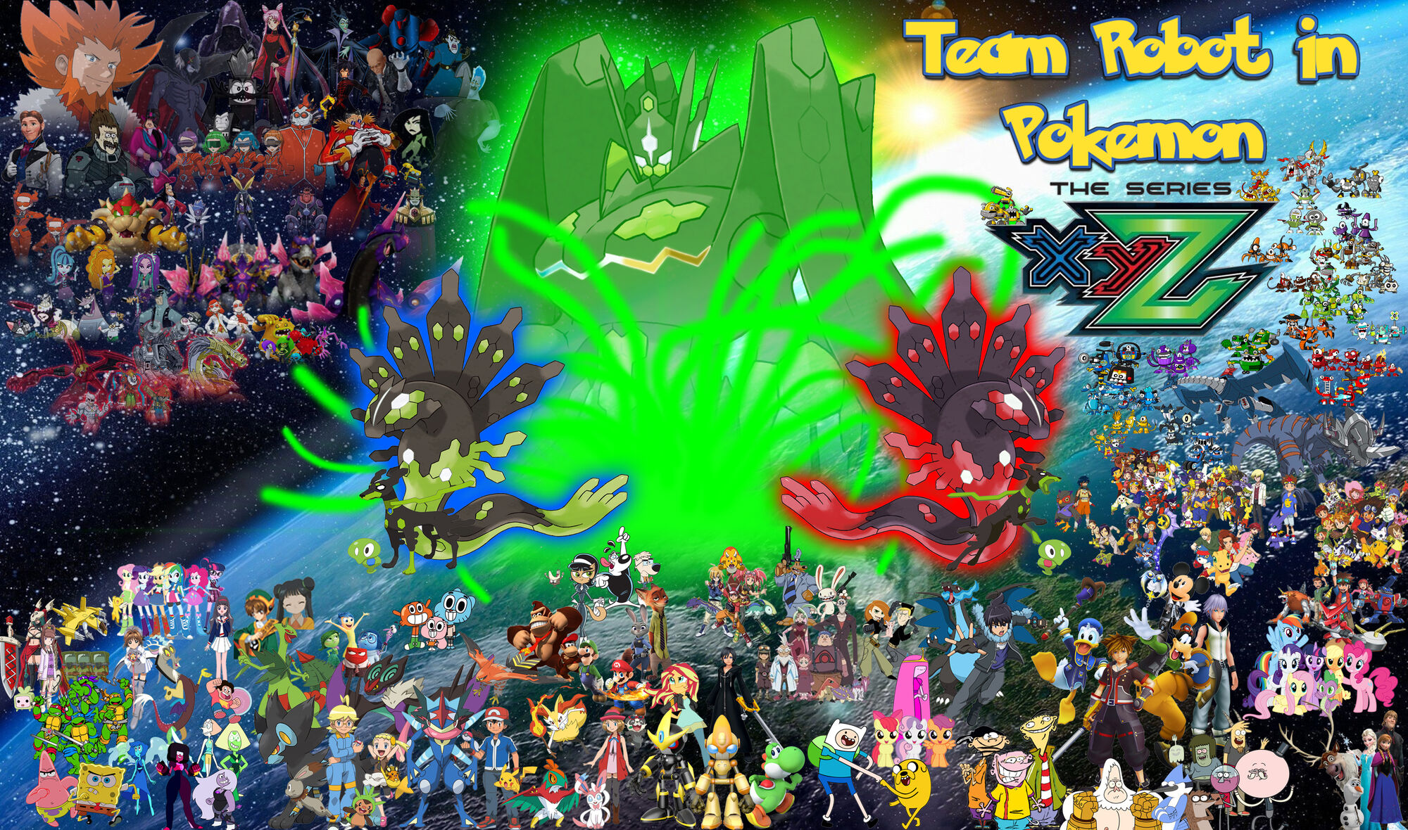 Team Robot In Pokemon Xy The Series Poohs Adventures Induced Info