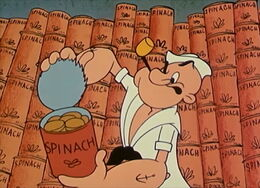 Popeye Spinach Collection