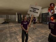 HAAT protestors 006