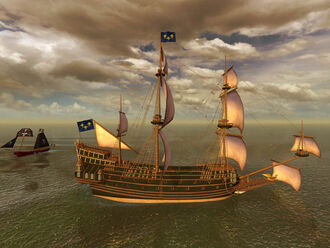 Couronne Galleon