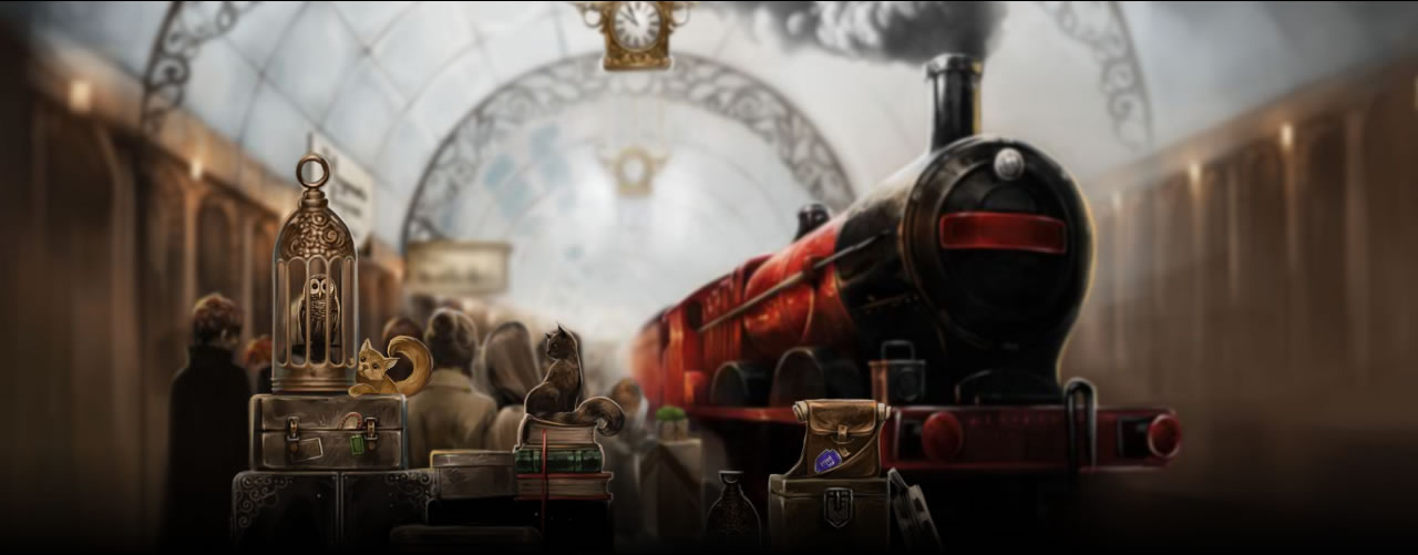 Hogwart's express; one of the moments from the old Pottermore.