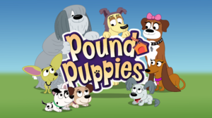 Pound Puppies Title Card