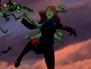 Miss Martian Extra Arms