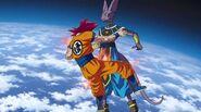 Beerus Stabs Goku
