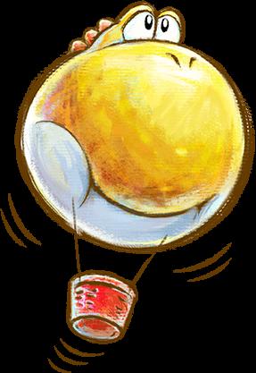 File:Yoshi Balloon.png
