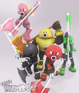 Axem Rangers X