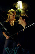 Buffy & Angel Swordfight