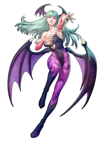 File:Darkstalkers Resurrection Morrigan.png