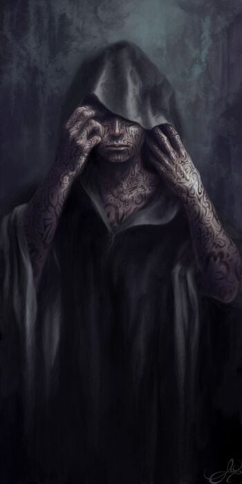 The painted man by navate