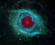Helix nebula ngc 7293 planetary fog
