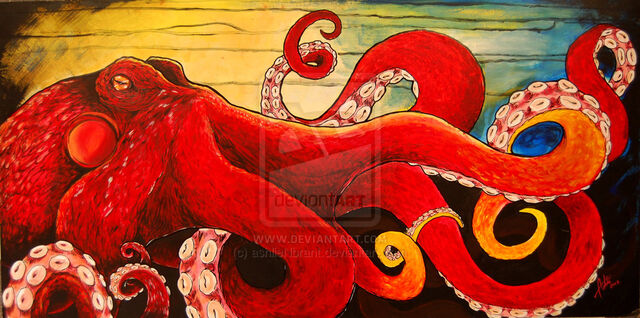 File:The red octopus by ashlienbrant.jpg