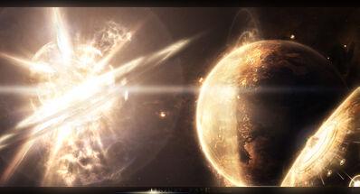 Supernova superweapon