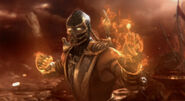 Scorpion Fire Fist