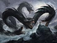 Hydra vs Monk