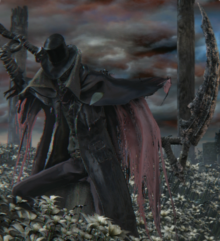 File:Gehrman Bloodborne scythe.png