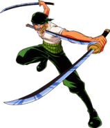Zoro Three-Sword Style