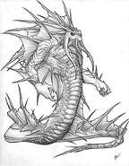 World of Warcraft Naga by Crowtalon44