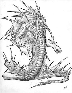 File:World of Warcraft Naga by Crowtalon44.jpg