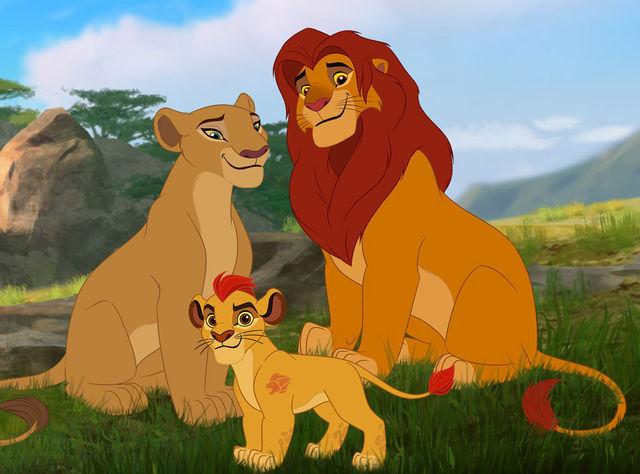 File:Simba, Nala and Kion.jpg