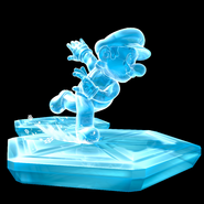 Ice Mario Art - Super Mario Galaxy