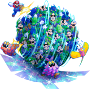 Luiginary Attack Artwork1 - Mario & Luigi Dream Team