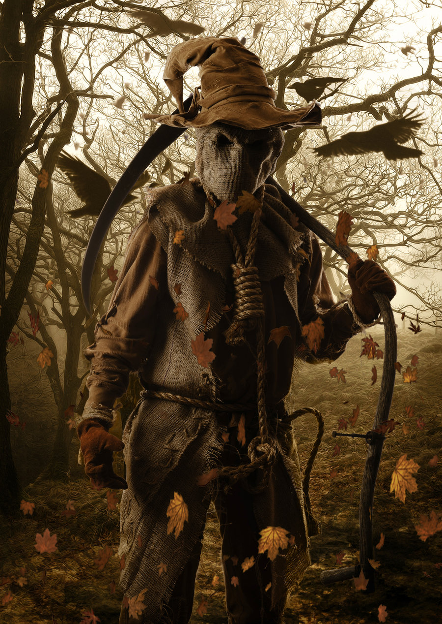 Scarecrow physiology superpower wiki fandom powered by - Scary halloween pumpkin wallpaper ...