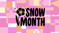 Snow Month Tittle Card HD