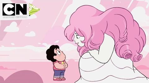 Steven Universe - Steven Meets Rose Quartz (Clip)